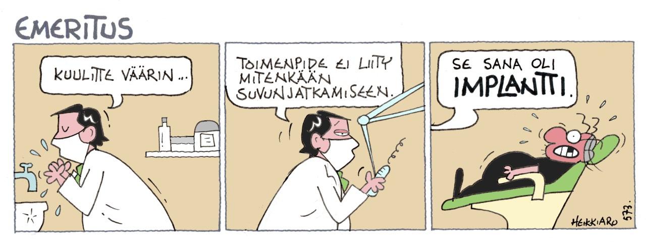 Hammasimplantit Tampere
